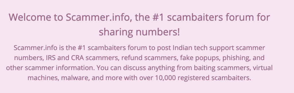 Scammer info Removal of Bad Content From This Site